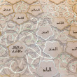 Allah names — Stockfoto #41512175