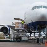 Loading cargo — Stock Photo #42290295
