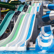 Water slides — Stock Photo #47142379