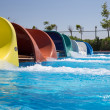 Water slides — Stock Photo #47142443