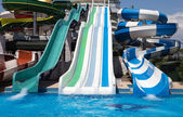 Water slides — Stock Photo