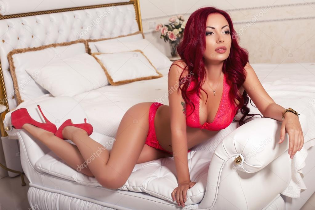 Foto gratis: Moda, Joyas, Cabello, Rojo, Sexy - Imagen