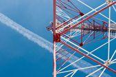 Wieża anteny — Zdjęcie stockowe