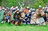 歴史的再構成の祭り — ストック写真