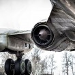Stock Photo: Old Tupolev aircraft