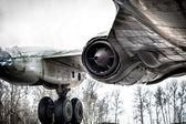 Old Tupolev aircraft — Stock Photo