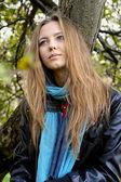 Blonde woman — Stock Photo