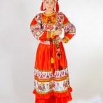 Girl in national costume — Stock Photo #41107771
