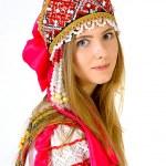 Girl in national costume — Stock Photo #41109497