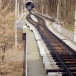 Kiev old cable-railway — Foto Stock