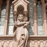 Statue of St. Nicholas Cathedral, Kiev, Ukraine — ストック写真
