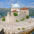 Our Lady of the Rocks church on the island in Kotor bay, Montenegro — Stock Photo #36048103