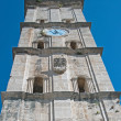 Church bell tower in Perast — Foto Stock