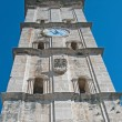 Church bell tower in Perast — Stock Photo