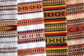 Ukrainian Hutsul rugs patterns — Stock Photo