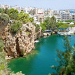 Voulismeni lake — Stock Photo