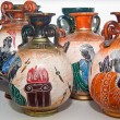 Stock Photo: Decorative Vases in Greece