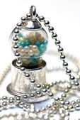 The gumball machine pendant — Stock Photo