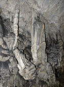 Stalagmite in the Psychro Cave, Crete, Greece — Stock Photo