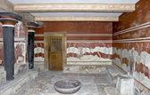 Knossos Throne Room, Crete — Stock Photo