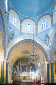 Roman Catholic Cathedral of Fira, Santorini — Stock Photo