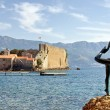 Monument to the Ballerina expecting for the favorite seaman — Stock Photo
