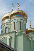 The church of St. Cyril and Methodius — Stock Photo