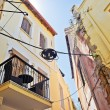 Narrow street of Chania — Stock Photo