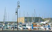 Порт Ираклион Греция и старый Форт — Стоковое фото
