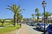 The street of Chania, Crete, Greece — ストック写真