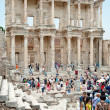 Stock Photo: The library of Celsus