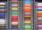 Colorful lurex palette — Stock Photo