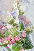 Frozen pastel bouquet — Stock Photo