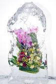 Frozen bouquet — Stock Photo