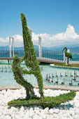Topiary in the park of Fethiye in Turkey — Stockfoto