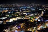 Panorama de la noche de fethiye, turquía — Foto de Stock