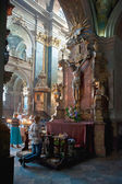 Interior of The Sts. Peter and Paul Church of the Jesuit Order — Fotografia Stock