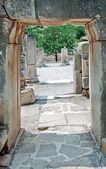 Ruínas da antiga éfeso na turquia — Fotografia Stock