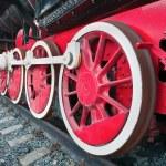 locomotora de vapor Vintage — Foto de Stock
