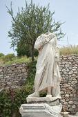 A statue on Kuretes Street in Ephesus, Turkey — Stock Photo