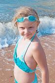 On the beach — Stock Photo