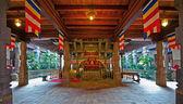 キャンディ、スリランカにおける歯の寺院の内部 — ストック写真