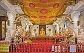 Shrine of Temple of the Tooth in Kandy, Sri Lanka. — Stock Photo