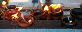 Brennende kerzen — Stockfoto