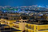 Night Athens, Greece — Stock Photo
