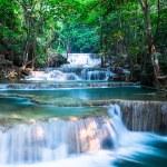 Waterfall at Huay Mae Khamin National Park, Thailand — Stock Photo #51620067
