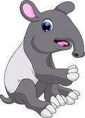 Caricature de Hippo — Vecteur