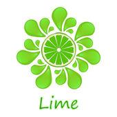 Juicy lime — Stock Photo