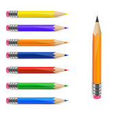 Set of pencils — Stock Vector