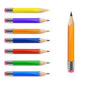 Set of pencils — Stock Vector